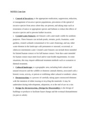 Sustainable Landscape Design 2 NOTES Con- Geo