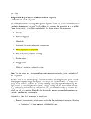 MGT 510 Assignment 3 Instructions.docx