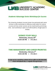 Academic Advantage Series Workshop--Grimes Spr-14 %281%29