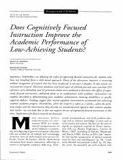 Does Cognitively Focused Instruction Imporve the Academic Performance.pdf