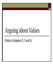 4-+Arguing+about+Values.ppt