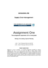 BUSADMIN 766 2016 Q1 Assignment 1