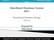Lect 04 Distributed Database Design.pptx