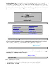 chfd331 quiz 3