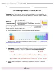 ElementBuilderSE - Name Date Student Exploration Element ...