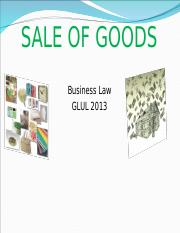 Sale of goods (LATEST) ver1.ppt