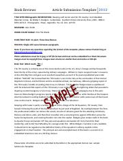 Article-Submission-Template-sample-bookreviews.doc