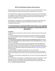 lab policies bis 2c lab attendance policies and instructions the rh coursehero com