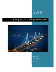 Design of a Pile Group for a Bridge Foundation.pdf
