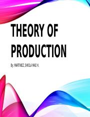 Chapter 6 - Theory of Production.pptx