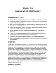 Political Science1 Chapter One Lecture Note