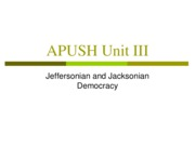 APUSH_Unit_III