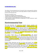 ENVIRONMENTAL LAW NOTES.docx