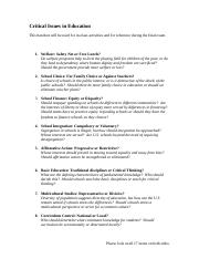 504 01.06 HANDOUT Critical Issues in Education.doc