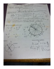 Precalculas Section 4.1 Worksheet