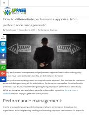 Difference between performance management and performance appraisal.pdf