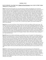 a plot summary of the story death of hector and achilles History ancient greece the iliad is an epic poem written by the greek poet homer it tells the story of the last year of the trojan war fought between the city of troy and the greeks main characters greeks achilles - achilles is the main character and the greatest warrior in the world.