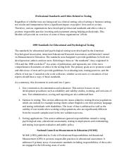 Module 2 Lecture Notes_Standards_for_Educational_and_Psychological_Testing_updated (1).doc
