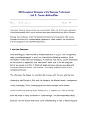 JenniferJohnson296-CS113-Unit9-Career Project