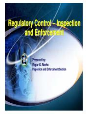 -Regulatory Control - Inspection & Enforcement (EG Racho).pdf