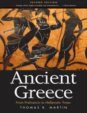 Thomas R. Martin-Ancient Greece_ From Prehistoric to Hellenistic Times-Yale University Press (2013).