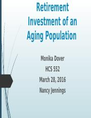 Financing Retirement of an Aging Population.pptx