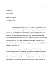English Comp Paper 4