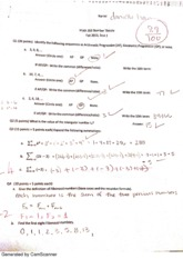 Number Theory test 1