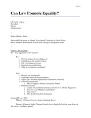 Can Law Promote Equality L23