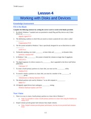 Q&A Disk&Devices