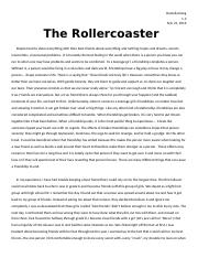 The Rollercoaster - Expository%2cDescriptive%2c Narrative Essay.docx