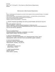 Unit 7 Lab 7.2 (Group B) _ Write Queries to Meet Business Requirements