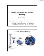 Chapter 4 Tertiary Structure and Protein Folding.pdf