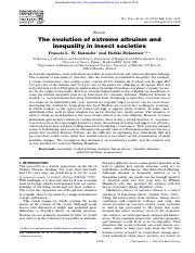 THeevolution of extream altruism and inequality (1).pdf