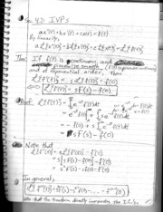 Section 4.2 - Transformation of Initial Value Problems