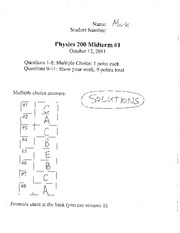 2011midterm1 solution