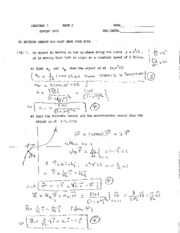 2010 Spring Exam #2 Solutions