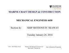Section 4c - Ship Motions in a Seaway_1 slide per page.pdf