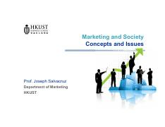 02s- Marketing and Society- Concepts and Issues