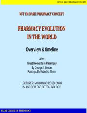 Evolution of Pharmacy[1]