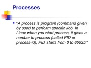 What Linux is and shell script with process