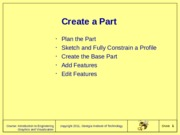 C04Creating_First_Part_2011F10