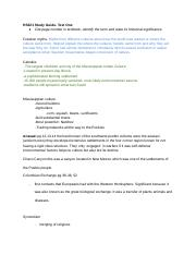HS221 Exam One Collaborative Study Guide.docx