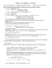 04 - Assignment 2 solutions