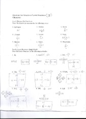 Worksheet electron dot diagrams and lewis structures chemistry a study of matter answers