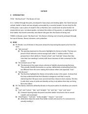 We Real Cool Essay Outline 1