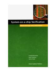 Kluwer Academic - System-On-A-Chip Verification - Methodology and Techniques - 2002.pdf