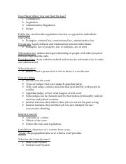 Legal Business Exam _1 Study Guide