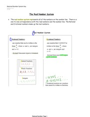 Rational Number Notes