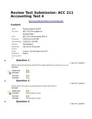 Review Test 4 Submission